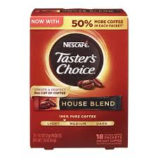 Taster's choice french roast instant coffee, 6 count * to view further for this article, visit the image link. Nescafe Taster S Choice House Blend Medium Light Roast Instant Coffee 7 Oz Jar Instant Meijer Grocery Pharmacy Home More