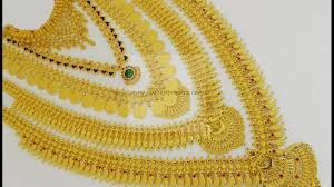 Josco Gold Jewellery Designs With Price Latest Kerala Style Necklace Set With Ideas