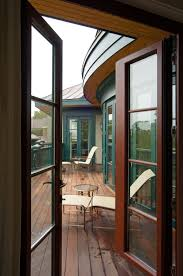 exterior single french doors. Out-Swing French Door With Red Meranti On The Inside And Aluminum Exterior Single Doors