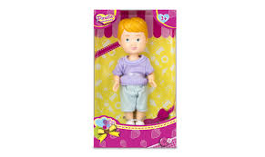 <b>Кукла Paula Мой друг</b>, фиолетовая футболка, голубые шорты ...