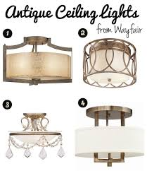 decorating our castle seeking flush mount lighting options that aren t ugly