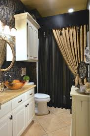 bathroom remodels images. Traditional Bathroom With Custom Made Shower Curtain Remodels Images
