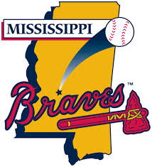 Mississippi Braves Primary Logo - Southern League (SL) - Chris ...