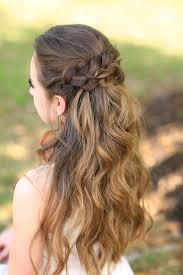 Prom Hair Style Up braided half up prom hairstyles cute girls hairstyles 5395 by wearticles.com