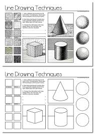 Drawing Activity Sheets line drawing a guide for art students ...