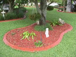 Decorative Stones For Flower Beds Install Landscape Edging Bricks Brick Flower Bed Edging Ideas