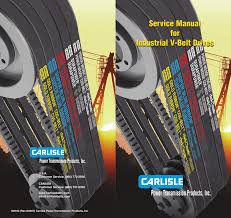 Service Manual For Industrial V Belt Drives Manualzz Com