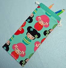 with a finished size of roughly 10 x 4 the pencil pouch will comfortably hold a set of 12 pencils