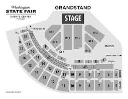 Wa State Fair Concert Seating Chart Grandstand Performance Event Venue Washington State Fair