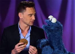 cookie monster tom hiddleston gif. Delighful Cookie Confused Tom Hiddleston GIF Intended Cookie Monster Gif T