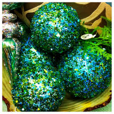 Decorated Styrofoam Balls use beads glitter and sequins to decorate styrofoam balls as 59