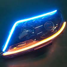 Blue Led Running Lights 2pcs 60cm Led Drl Signal Turn Led Light Drl Led Strip Light