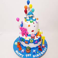 Pocoyo 3d Cake Sooperlicious Cakes