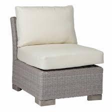 Slipper Chair Club Woven Outdoor Slipper Chair