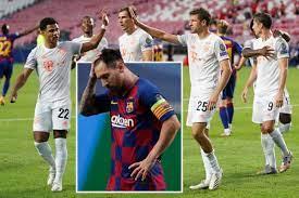 ميسي... عنوان مباراة برشلونة وبايرن ميونيخ