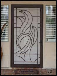 wooden screen doors with glass inserts full size of full view storm door wood screen doors