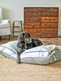 Diy Dog Bed Pet Projects Make A Diy Dog Bed Hgtv