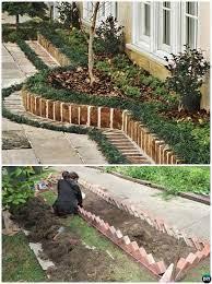 20 creative garden bed edging ideas