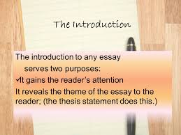 beginnings endings techniques for crafting effective  the introduction the introduction to any essay serves two purposes