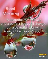 Good Morning Beautiful Picture Quotes Best of Good Morning Quotes Beauty Perfect Body Changed But Beautiful Soul