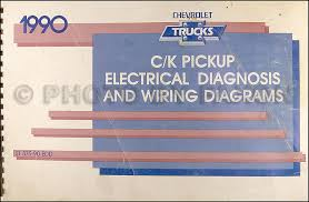 chevy c k pickup wiring diagram manual original