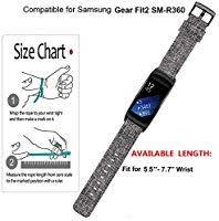Gear Fit 2 Pro Size Chart Vicrior Gear Fit2 Fit2 Pro Bands Nylon Canvas Ballistic