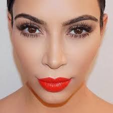 kim kardashian reveals her favorite makeup s for a bold lip