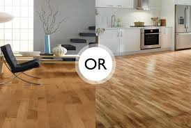 hardwood flooring vs laminate flooring
