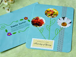 Spring Photo Cards Diy Spring Greeting Cards Party Inspiration