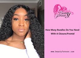 Straight Bundle Length Chart How Many Bundles Do You Need With A Closure Or Frontal