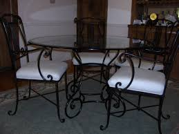 full size of dining room chair wrought iron dining room table and chairs seater dining