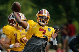 Nfl Rumors Redskins Dwayne Haskins Losing Qb Competition