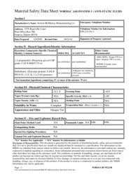 Fillable Online Form 207 Material Safety Data Sheet Asg3doc