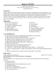Electrical Contractor Resumes Electrical Contractor Resume Cover Letter Samples Cover