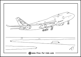 Small Picture Aeroplane Colouring Pages