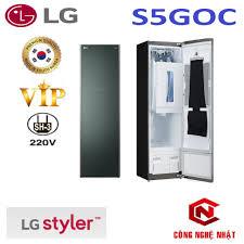 Máy giặt sấy khô hấp LG Styler S5GOC phiên bản 2021 VIP nội địa Hàn Quốc
