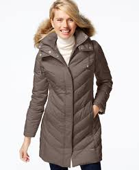 Kenneth Cole Faux-Fur-Trim Chevron Quilted Down Coat | Products ... & Kenneth Cole Faux-Fur-Trim Chevron Quilted Down Coat Adamdwight.com
