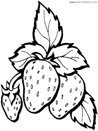 Small Picture Free Coloring Pages Printable Strawberry Coloring Pages Printable