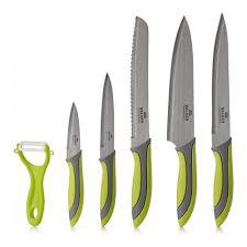 <b>Набор</b> кухонных <b>ножей</b> 5 штук + овощечистка <b>Walmer Vegan</b> ...