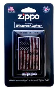 Amazon.com: Zippo American Flag <b>Design Windproof</b> Lighter ...