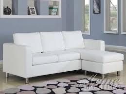 acme furniture white faux leather