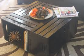 LET'S MAKE A COFFEE TABLE...WITH CRATES!!