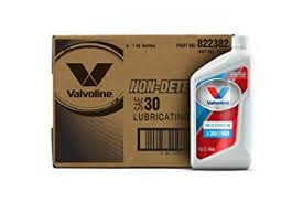 Valvoline Oil Cross Reference Chart Amazon Com Valvoline Daily Protection Non Detergent Sae 30
