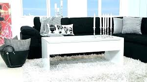 high gloss white coffee table modern round argos full size