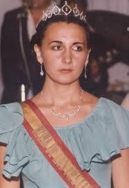 REINA Y DAMAS AÑO 1978. Noni Cuesta. Damas: Loli Pacheco, Pepi Aragón, Isabel Campos, Pastora Oliva, Paqui Trujillo, Isabel Jiménez. - Reina1978