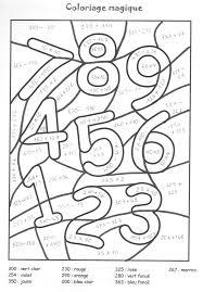 Coloriage Magique Cp 63 Dessins Imprimer Et Colorier Page 7