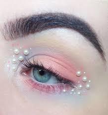 Eye Makeup Sticker Designs Pearl Facial Makeup Sticker In 2020 Makeup Stickers