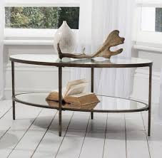 metal and glass oval coffee table bought for 250 on wayfair