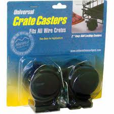 <b>MidWest Колеса для Клеток</b> Universal Crate Caster Универсальные