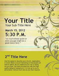Meeting Announcement Template Flyer Announcement Template Womens Conference Flyer Design